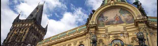 La Maison municipale de Prague : un chef d'œuvre Art nouveau !
