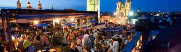 Les 4 plus beaux rooftops et terrasses de Prague