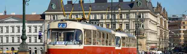 Prenez les trams historiques de Prague pour découvrir la ville!